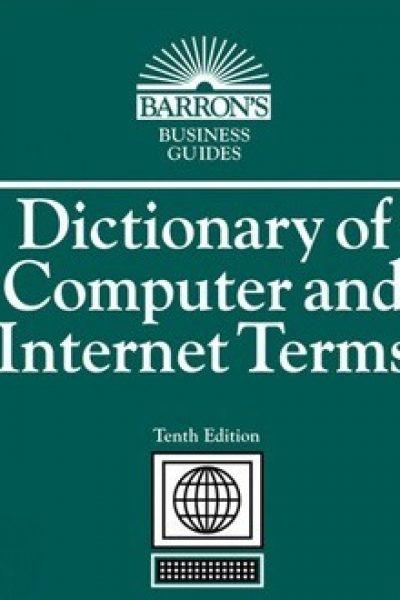 کتاب دیکشنری اصطلاحات کامپیوتر و اینترنت