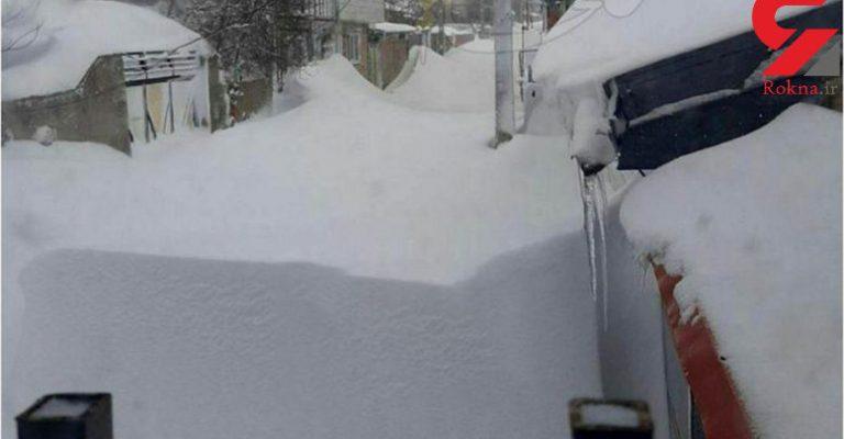 برف در خلخال ! – فیلم و عکس
