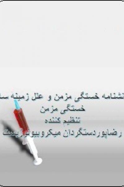 دانشنامه خستگی مزمن و علل زمینه ساز آن-نوشته رضا پور دست گردان